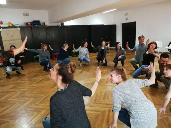 """Legislative theatre"": Training for trainers in Pula"