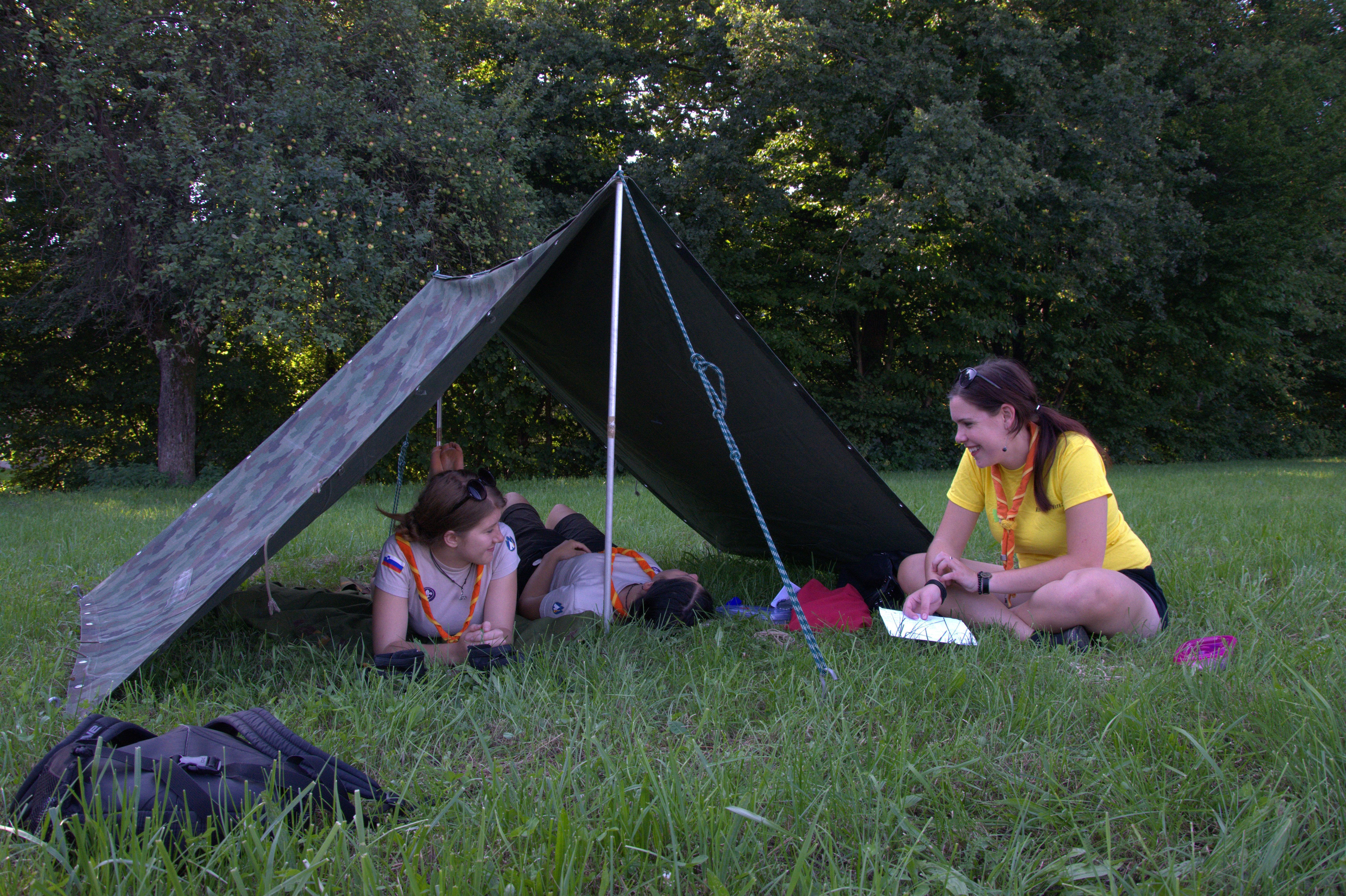 Tudi taborniki so bili z nami