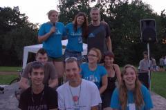 Organizacijska ekipa: človekINJe in mladi črnučani