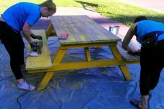 Priprava na barvanje - brušenje stare barve