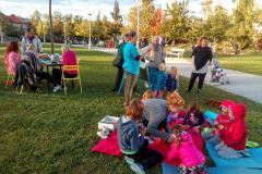 Pisana družba lokalnih dogodkov v Severnem parku