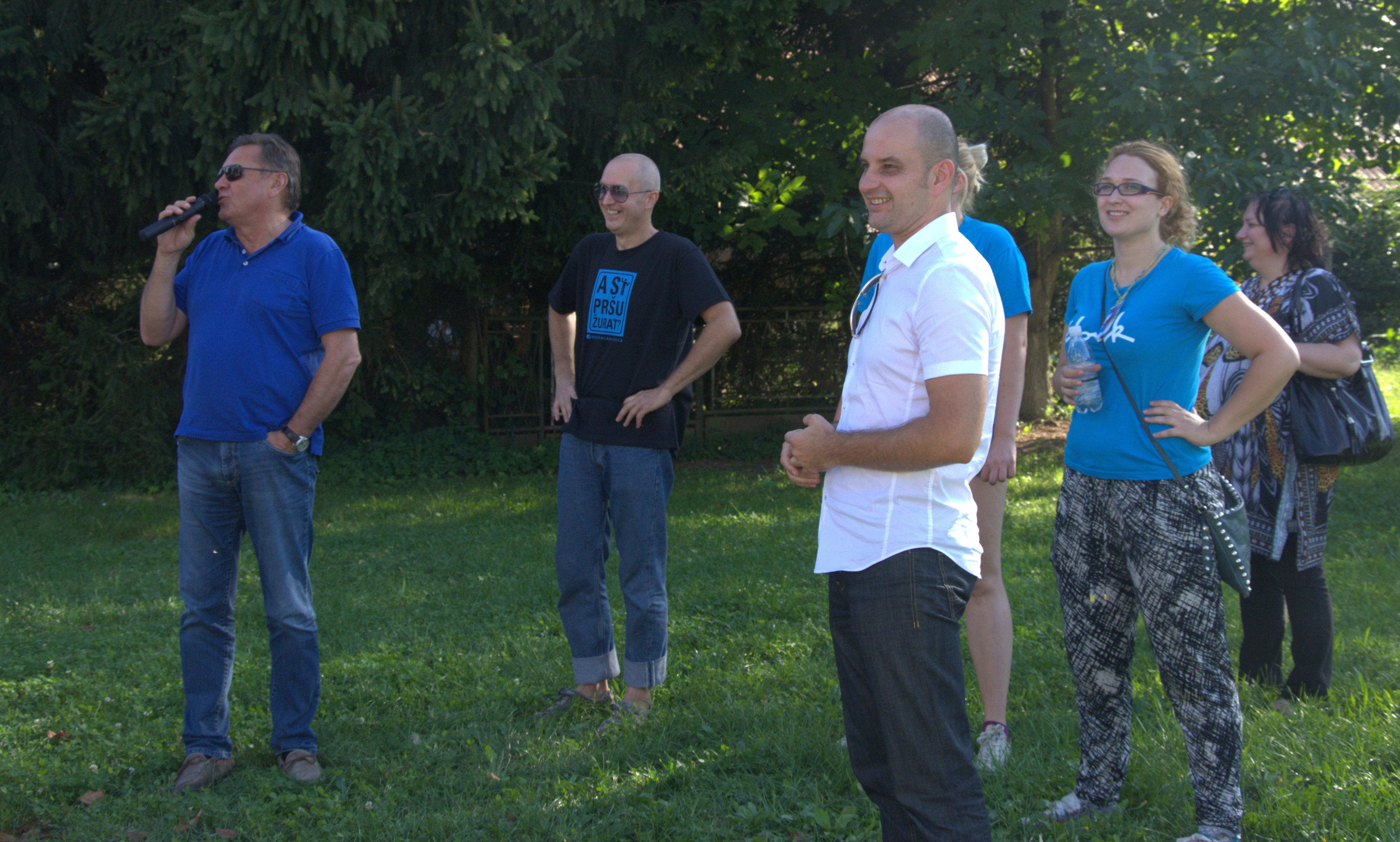 Obiskal nas je župan Mestne občine Ljubljna in direktor Urada za mladino ter direktor Javnega zavoda Mladi zmaji