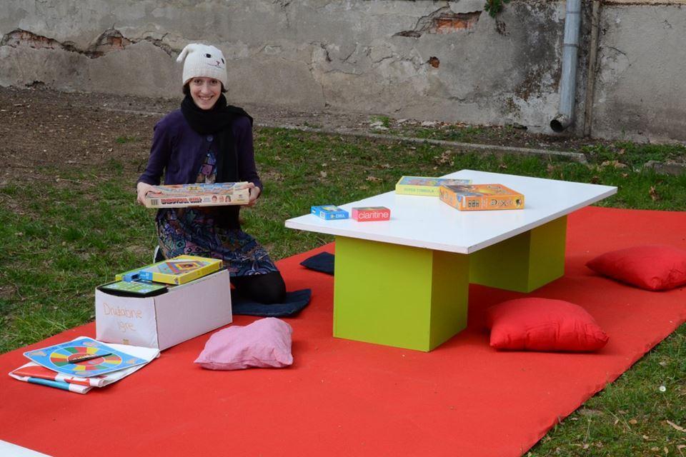 Družabne igre v parku